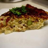 5-39: Asparagus-Clam Quiche