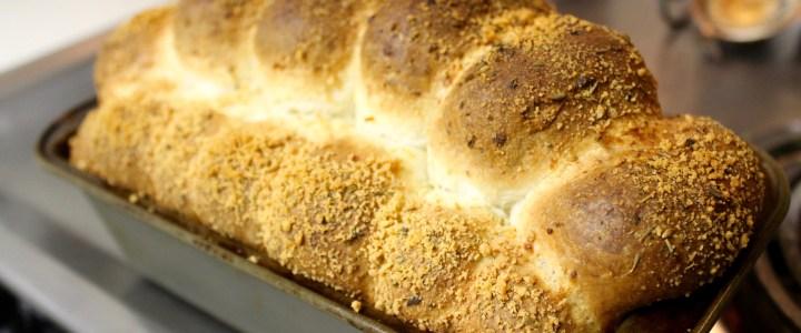 17-19: Parmesan Bread