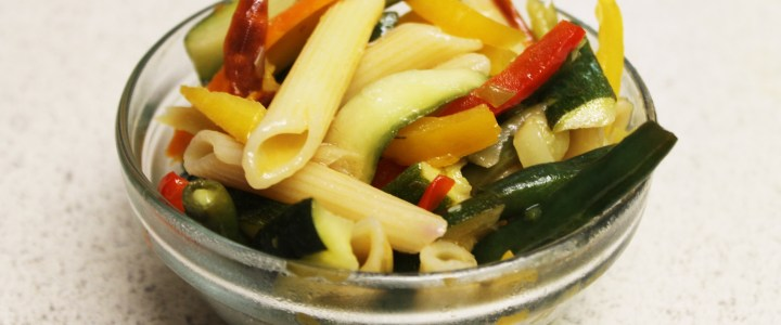 13-14: Wok-Fried Veggies with Pasta