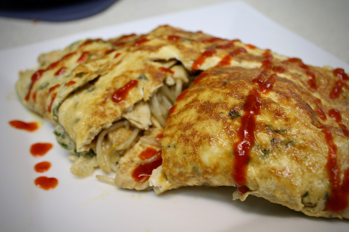 5-14: Thai Chicken Omelette