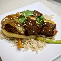 8-43: Chinese Beef and Rice
