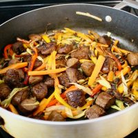 8-25: Stir-Fried Beef