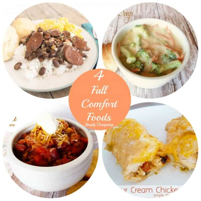 4 Fall Comfort Foods