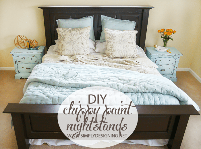Bedroom Makeover  | #diy #paint #furniture