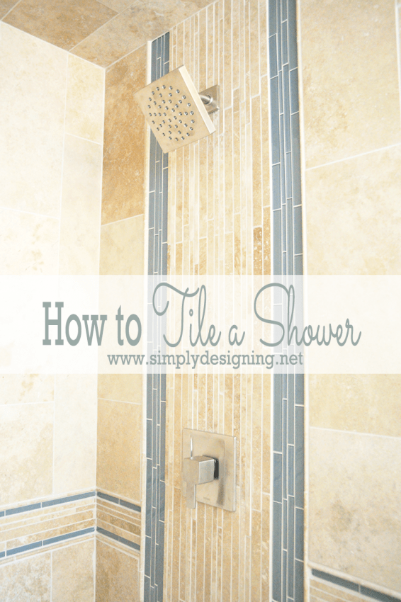 How to Tile a Shower | #diy #tile #bathroom #bathroomremodel #thetileshop @thetileshop