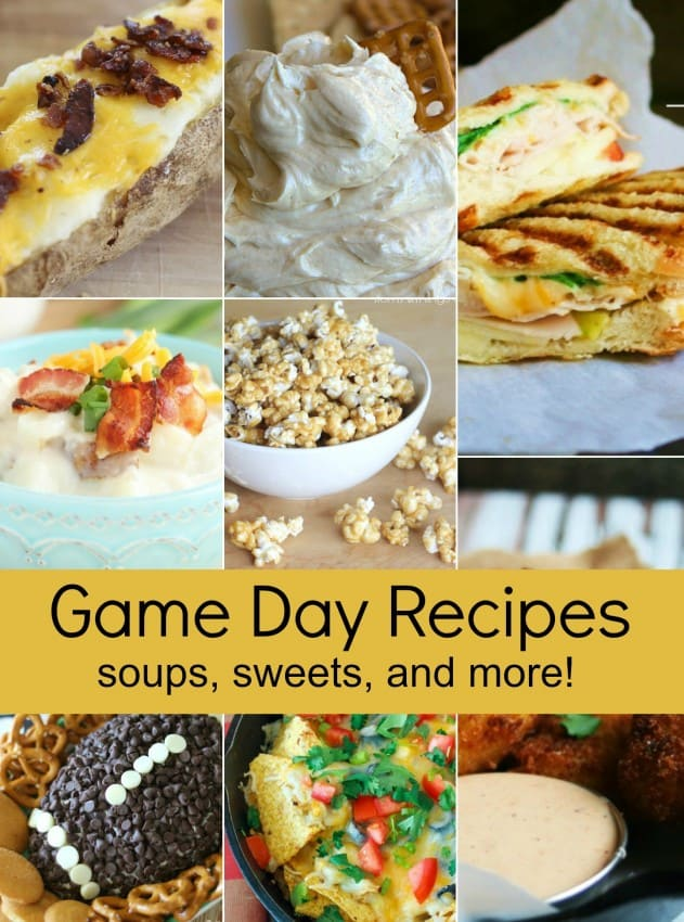 12 Game Day Recipes | Game day is the perfect excuse to gather together and eat lots of yummy food!  So here are 12 Game Day Recipes that you'll definitely want to pin!