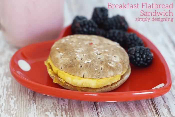 Egg and Bacon Breakfast Sandwich