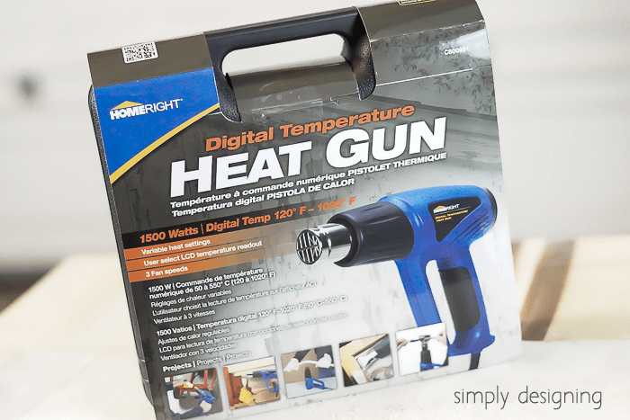 HomeRight Digital Temperature Heat Gun