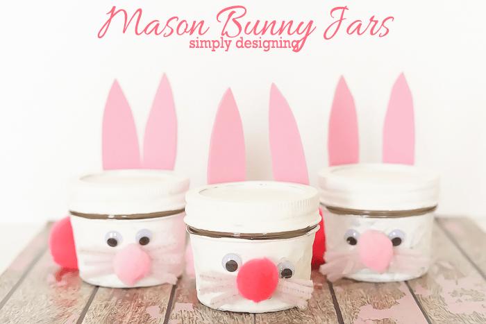 Bunny Jar Kids Craft