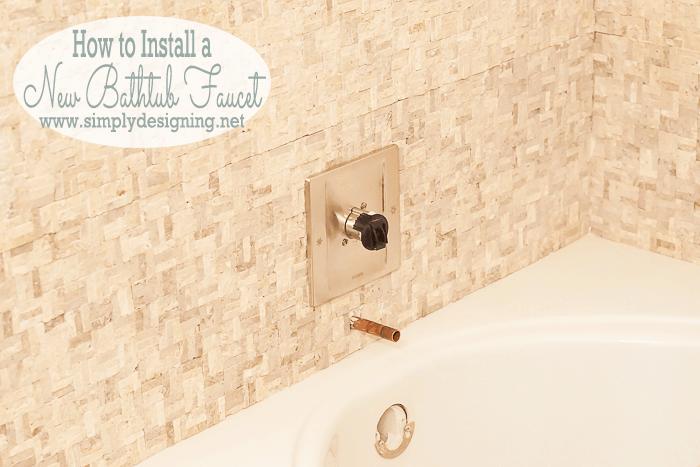 Bathtub Faucet Installation
