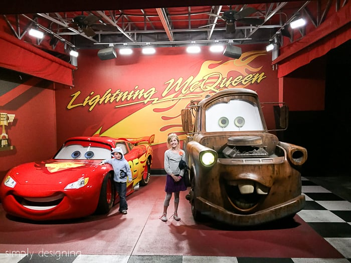 Cars at Hollywood Studio