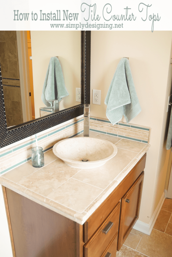 How to Install New Tile Counter Tops
