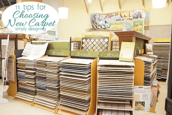 Tips for Choosing New Carpet