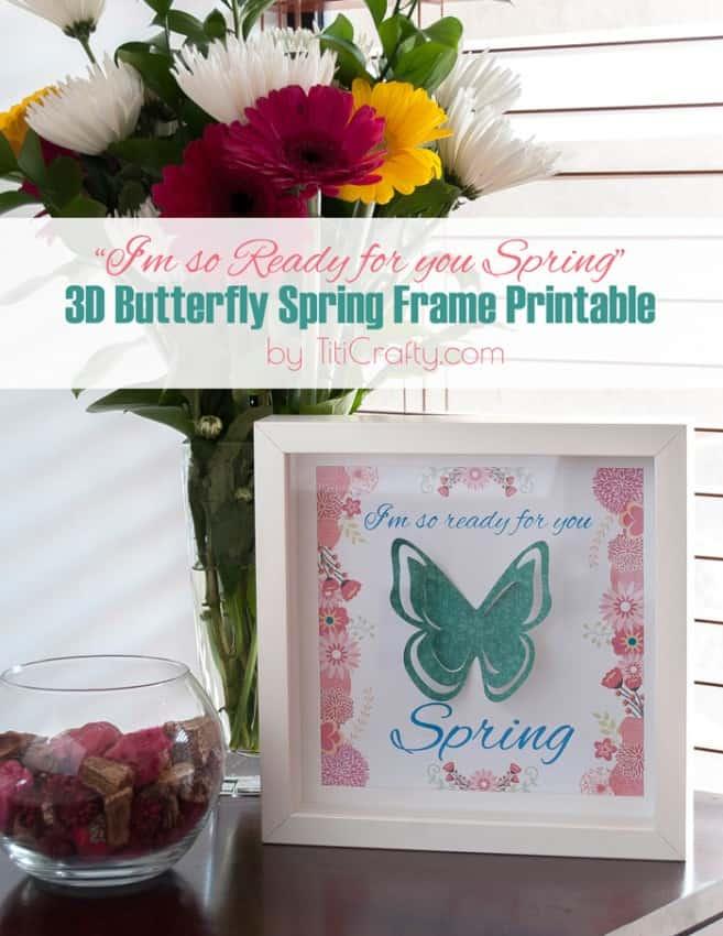 3D-Butterfly-Spring-Frame-Printable