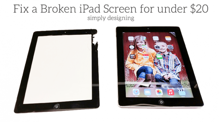 Fix a shattered iPad screen