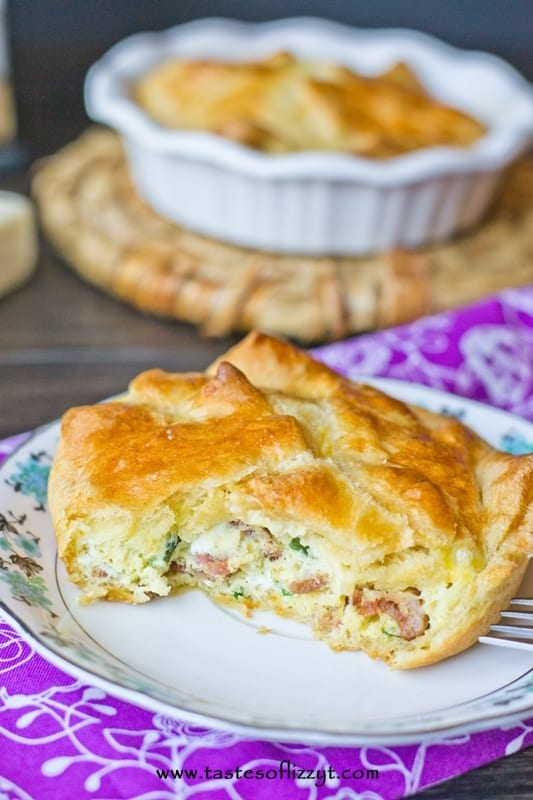 spinach and cheese egg souffles