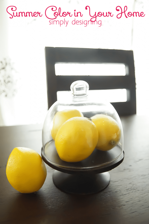 Decorate with Citrus Colors