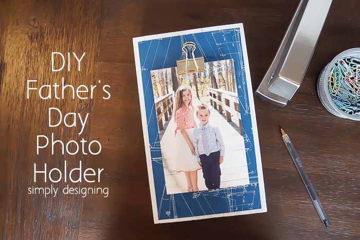 Fathers Day Photo Holder