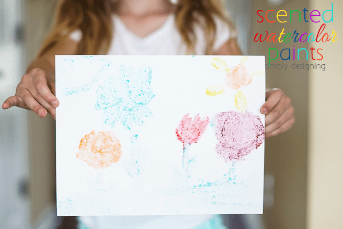 DIY Scented Watercolor Paints