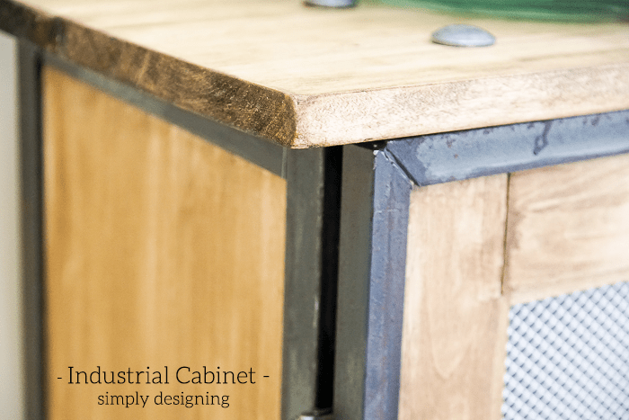 Industrial Cabinet - amazing DIY