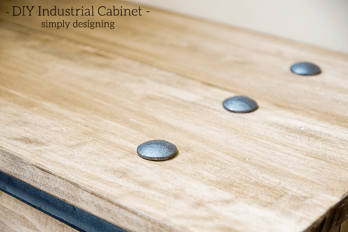 Industrial Cabinet - bolts on top