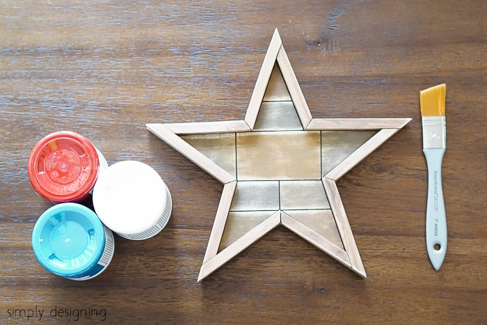 Whitewashed Barn Star Supplies