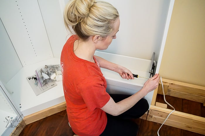 Install Cabinet Drawers