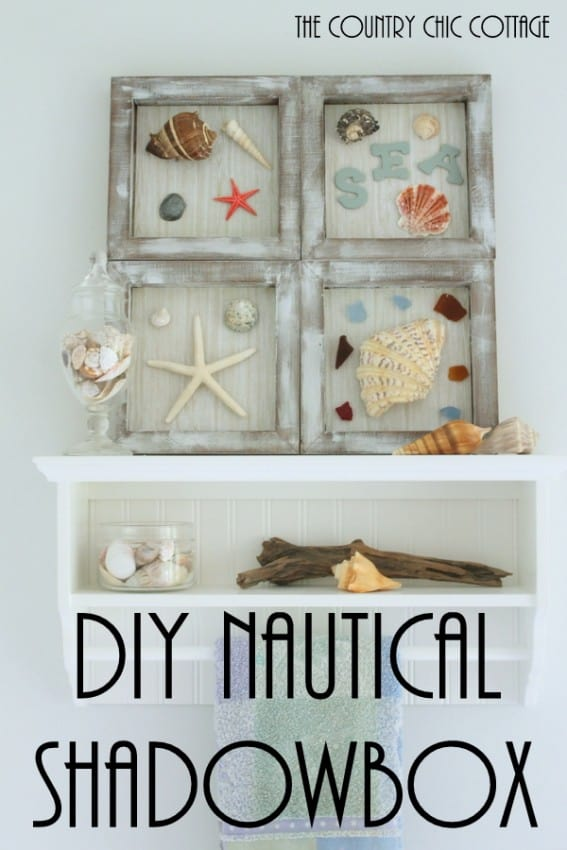 beach themed shadowboxes