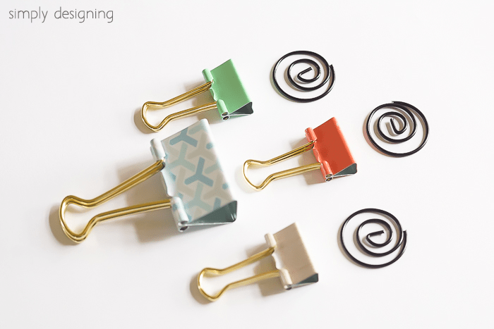 Binder Clips and Paper Clips