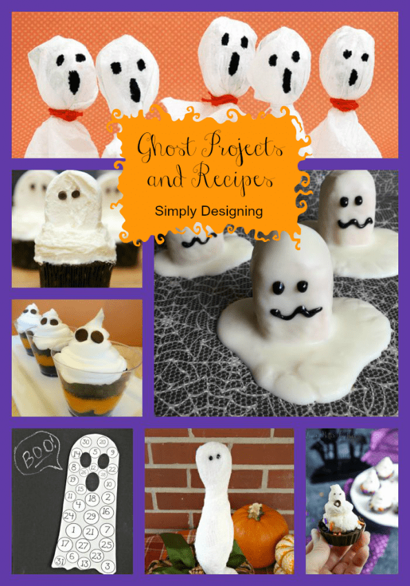 Ghost Crafts and Recipes