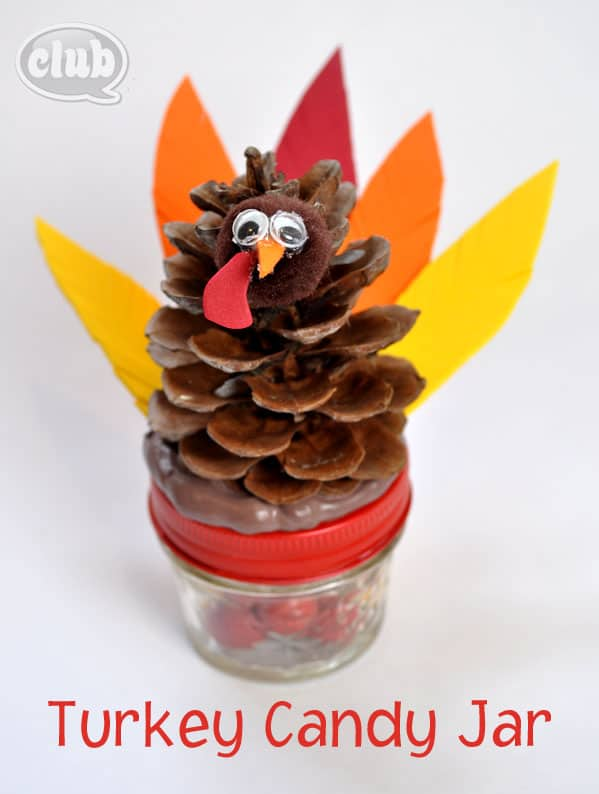 Turkey-candy-jar-craft-homemade-gift
