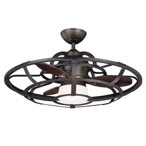 industrial reclaimed ceiling fan