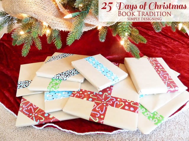 25 Days of Christmas Book Tradition