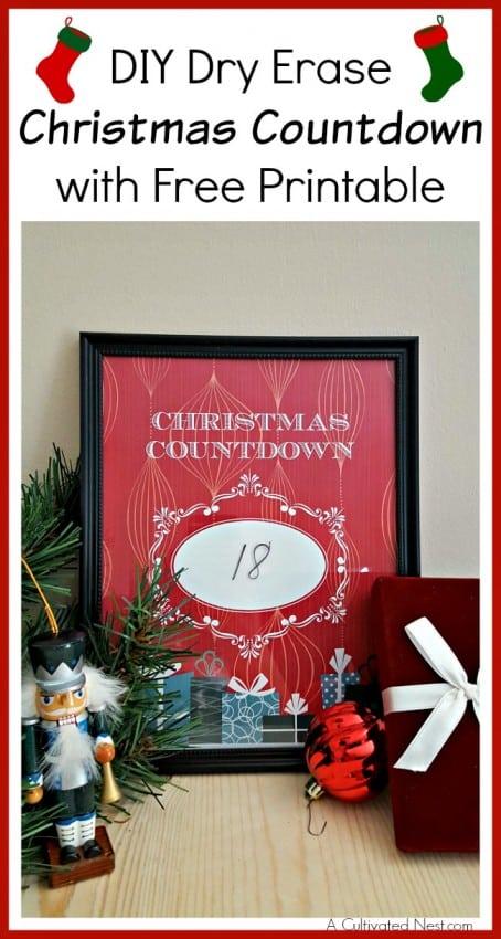 diy-dry-erase-christmas-countdown-with-free-printable