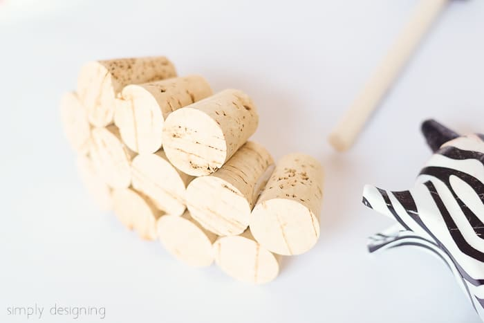 glue wine corks together
