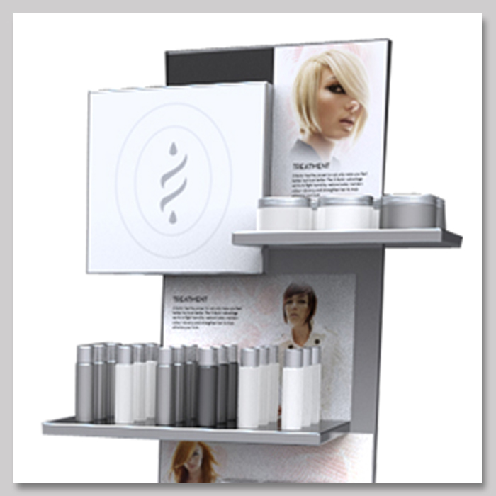 Salon Cosmetic Displays Simply Displays