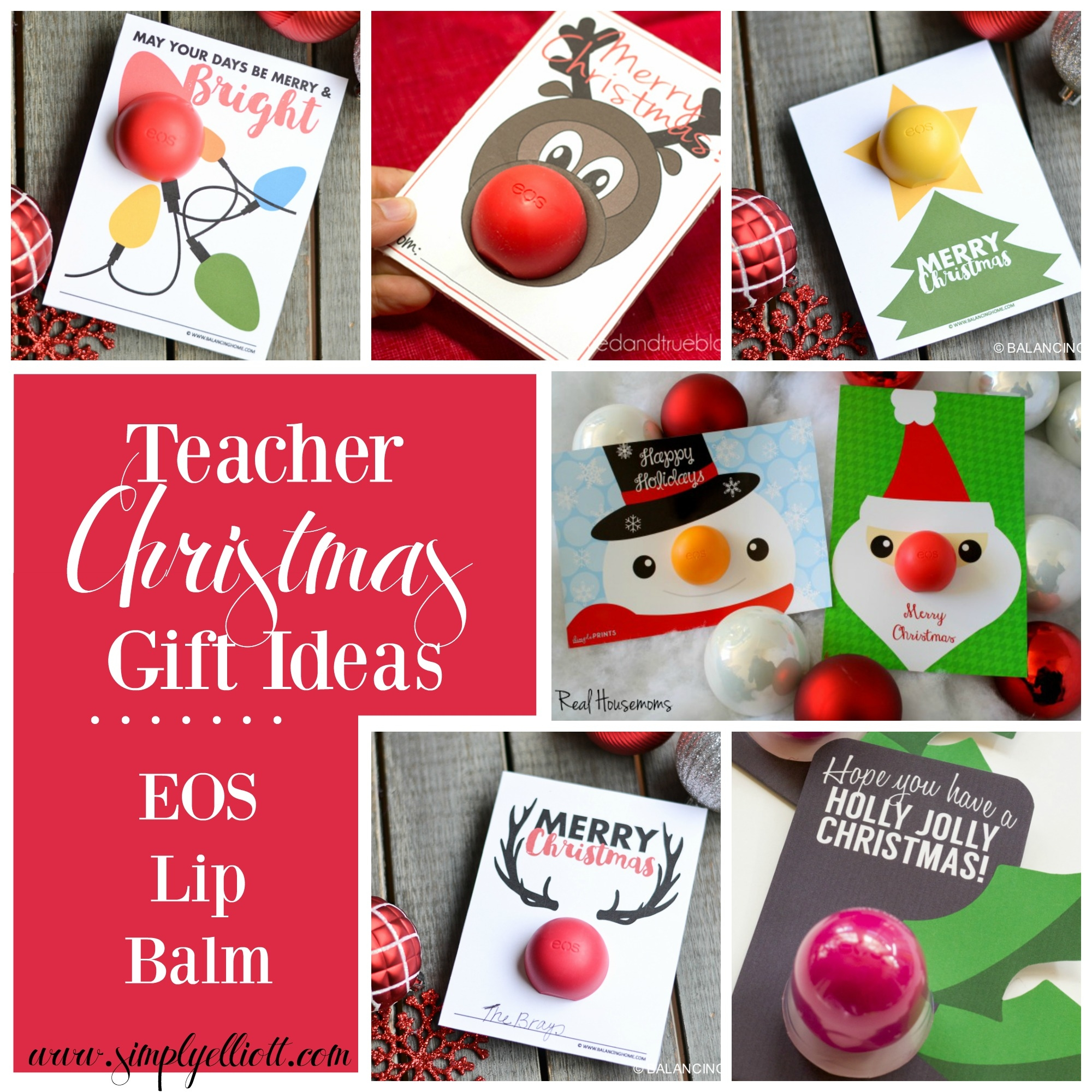 EOS | Teacher Christmas Gift Ideas - Simply Elliott