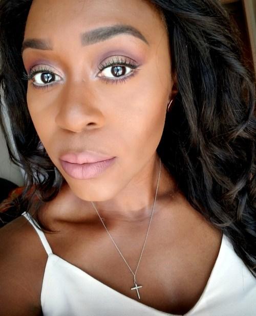 Wedding Guest Makeup – Soft Purple – Simply Eseeri