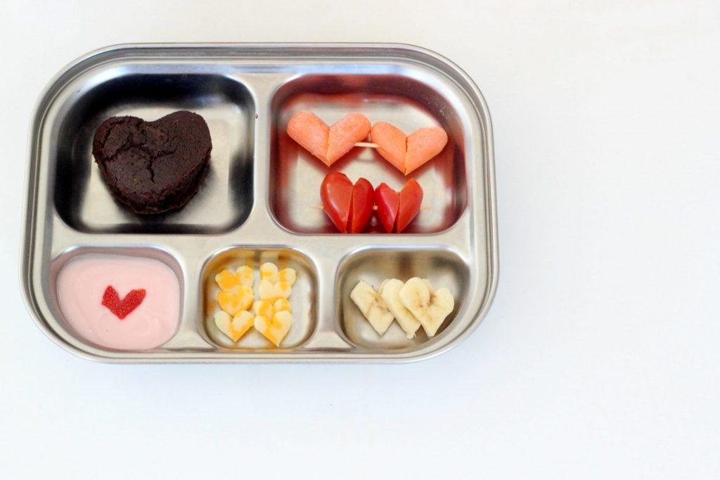 Valentine's veggies