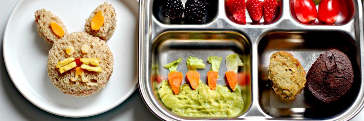Easter Veggies & Bento Box Ideas (Ft. Garden Lites)