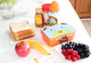 Easy DIY Recipe for Kids: Honey Bear Lunchbox