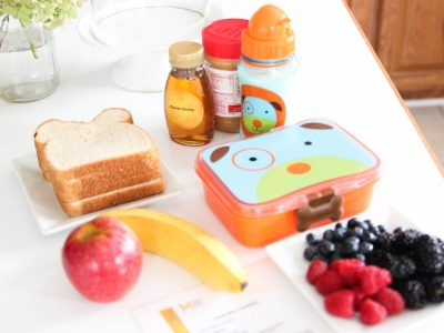 Easy DIY Recipe for Kids: Honey Bear Lunchbox