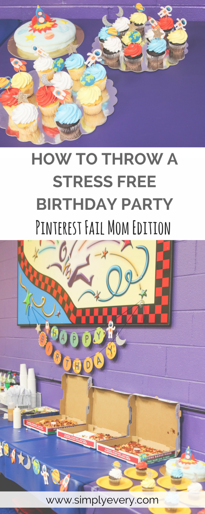 How To Throw A Stress Free Birthday Party