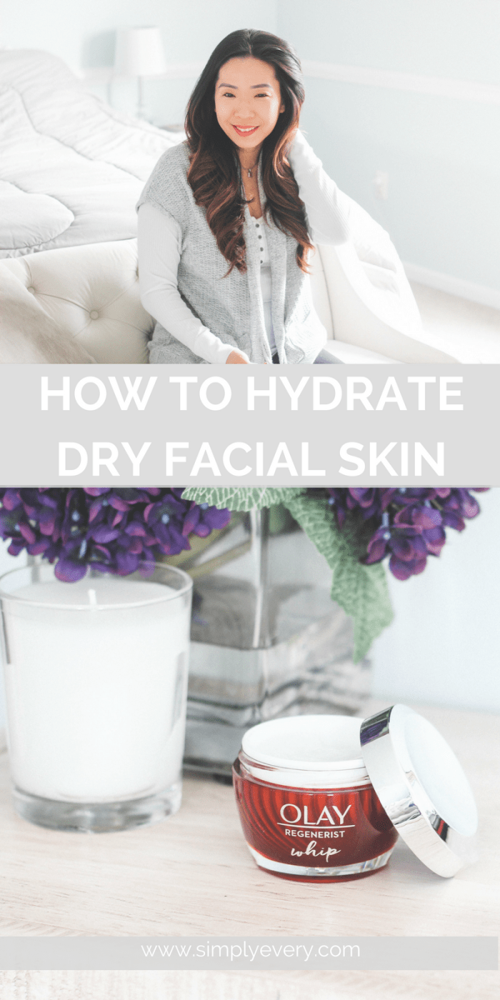 How to Hydrate Dry Facial Skin