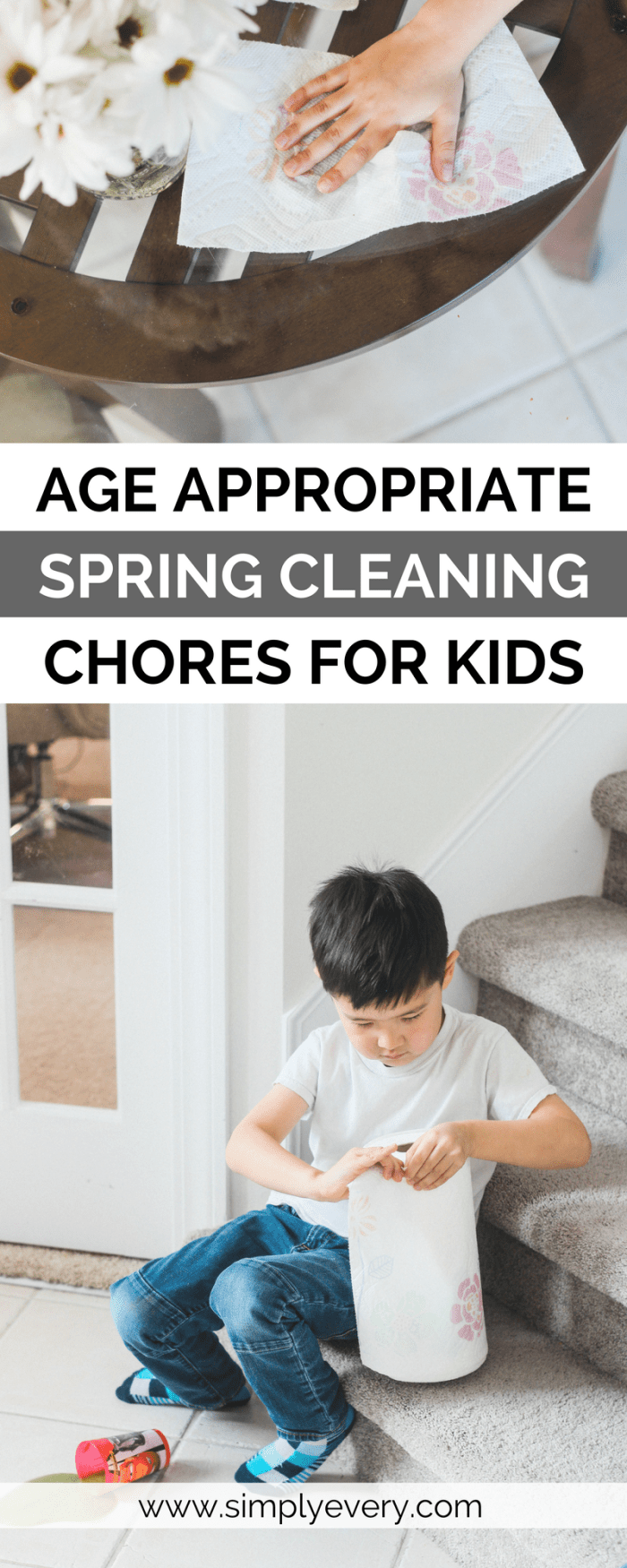 Age Appropriate Spring Cleaning Chores for Kids