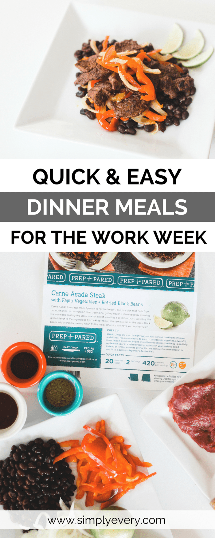 Easy Dinner Meals for the Work Week