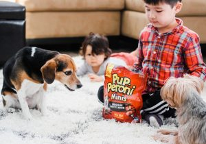 How To Encourage Bonding Between Kids and Pets with Pup-Peroni®