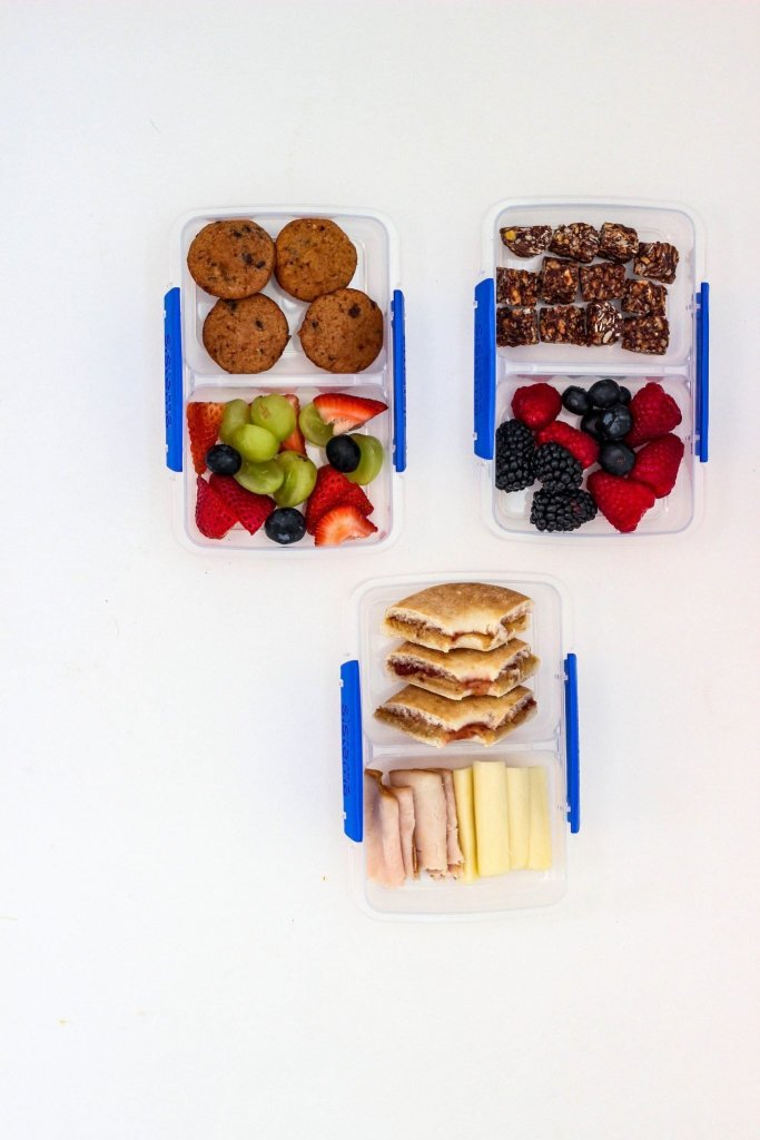 No Heat School Lunches bento style