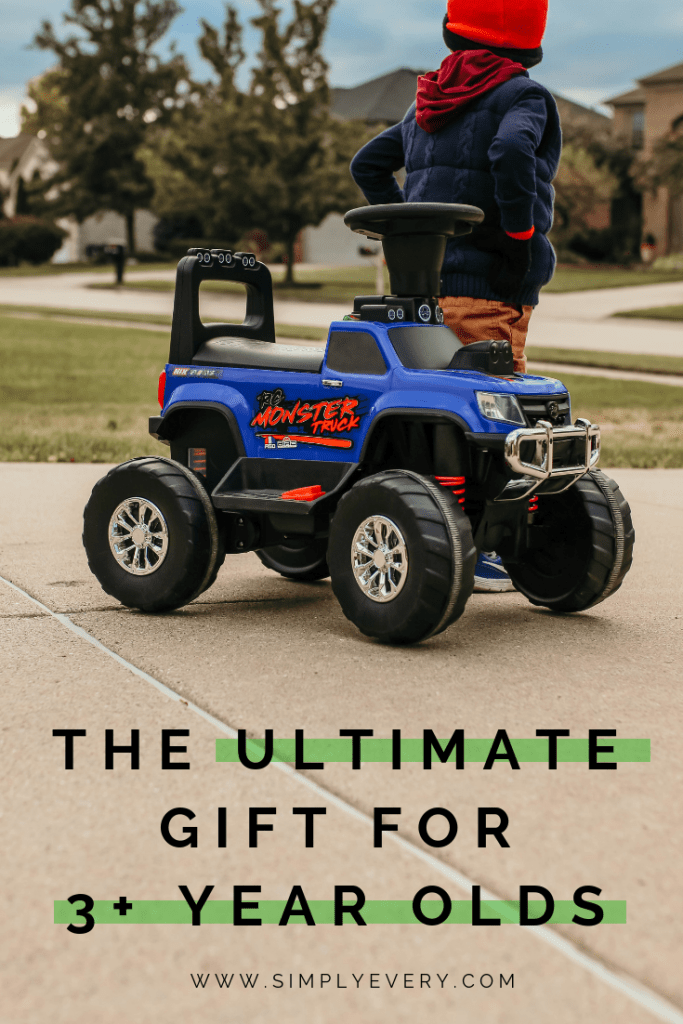 Ultimate Gift for Three Year Olds