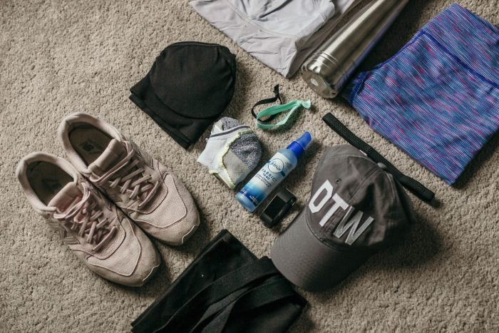 What's In My Gym Bag - Main Items by Simply Every